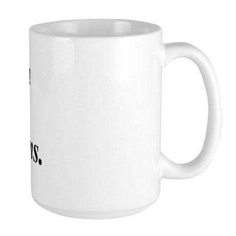 Shaman do it Large Mug