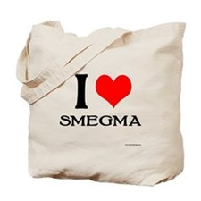 White Smegma Tote Bag