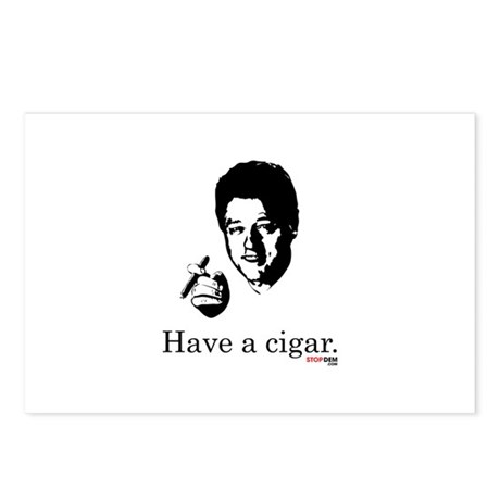 Have a Cigar. Postcards (Package of 8)