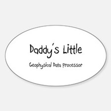 Daddy's Little Geophysical Data Processor Decal