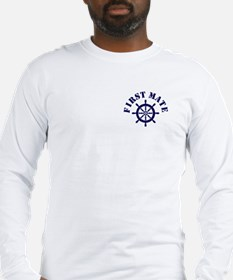FIRST MATE Long Sleeve T-Shirt