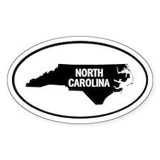 North Carolina Oval Decal