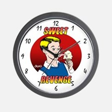 Skuzzo Sweet Revenge Wall Clock