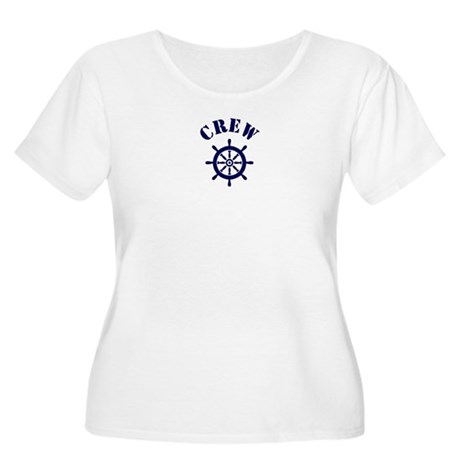 CREW Women's Plus Size Scoop Neck T-Shirt