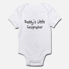 Daddy's Little Geographer Infant Bodysuit