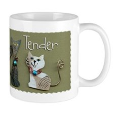My Cat Loves Me Tender Mug