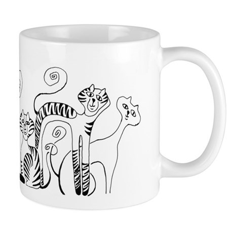 kittyink3_mug Mugs