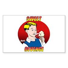 Skuzzo Sweet Revenge Rectangle Decal