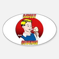 Skuzzo Sweet Revenge Oval Decal