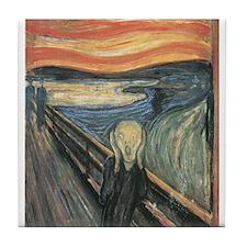 "Munch's ""The Scream"" Tile Coaster"