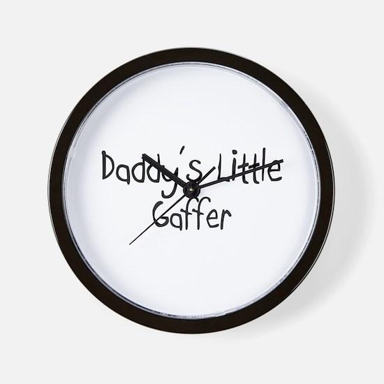Daddy's Little Gaffer Wall Clock