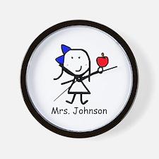 Apple - Mrs. Johnson Wall Clock
