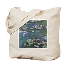 Monet's Water Lilies Tote Bag