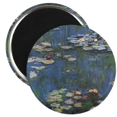 Monet's Water Lilies Magnet