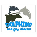 Dolphins Small Poster