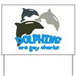 Dolphins Yard Sign