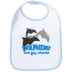 Dolphins Bib
