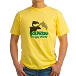 Dolphins Yellow T-Shirt