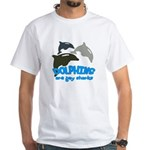 Dolphins White T-Shirt