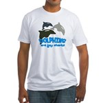 Dolphins Fitted T-Shirt