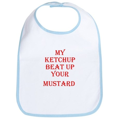 Ketchup Beat Mustard Bib