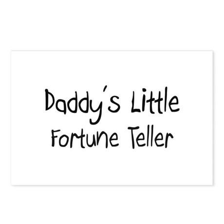 Daddy's Little Fortune Teller Postcards (Package o