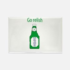 Go Relish Rectangle Magnet