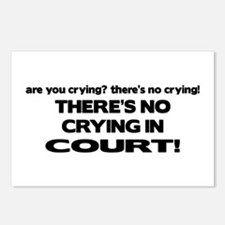 There's No Crying in Court Postcards (Package of 8