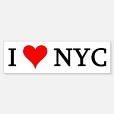 I Love NYC Bumper Bumper Bumper Sticker
