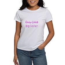 Only to Big Sis Kids Tee