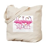 Flamingo Canvas Totes