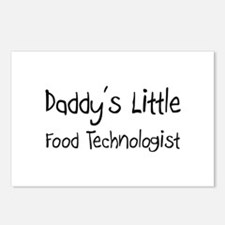 Daddy's Little Food Technologist Postcards (Packag
