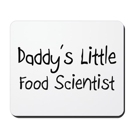 Daddy's Little Food Scientist Mousepad