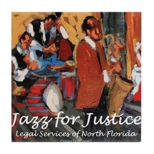 Jazz for Justice Tile Coaster