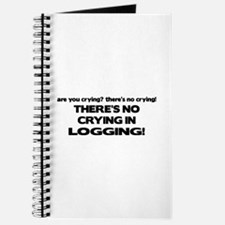 There's No Crying Logging Journal