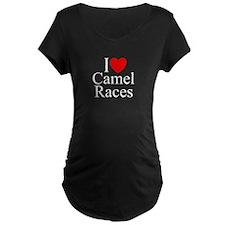 """I Love (Heart) Camel Races"" T-Shirt"