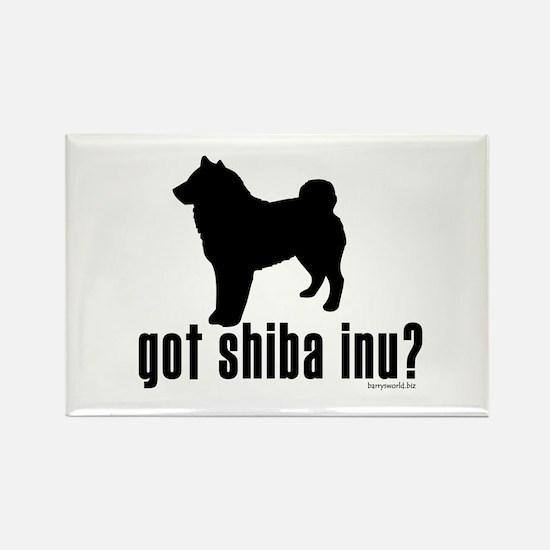 got shiba inu? Rectangle Magnet (10 pack)