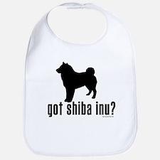 got shiba inu? Bib