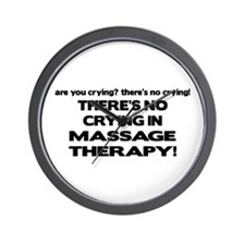 There's No Crying Massage Therapy Wall Clock