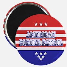 Patriotic Border Patrol Magnet