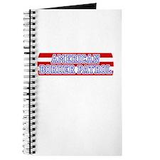 Patriotic Border Patrol Journal