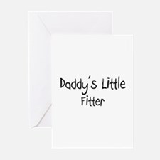 Daddy's Little Fitter Greeting Cards (Pk of 10)