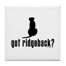 got ridgeback? Tile Coaster