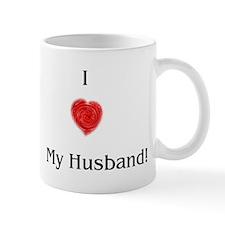 I heart My Husband Mug