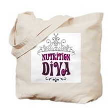 Nutrition Diva Tote Bag
