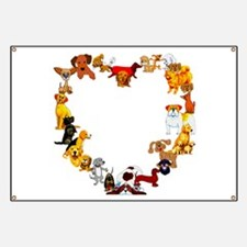 Dog Heart Banner