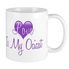 Love is my Ocicat Mug