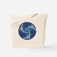 Selkie Triskele Tote Bag