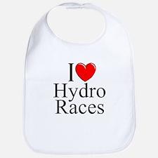 """I Love (Heart) Hydro Races"" Bib"