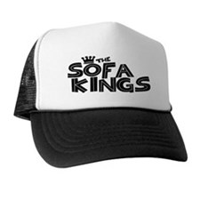 The Sofa Kings Trucker Hat (Black on White)